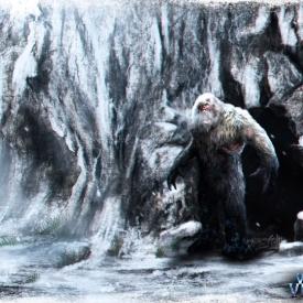 Winter Village Cave Concept